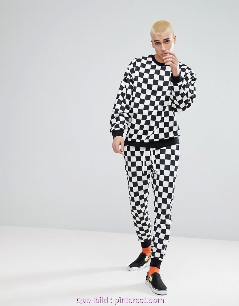 Großartig Onlineshop Wie Asos ASOS Tracksuit In Checkerboard Print - Black | Printing And Products