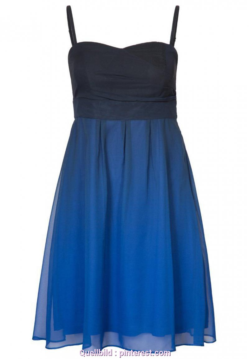 Großartig Young Fashion Cocktailkleid Cocktailkleid/Festliches Kleid - Blau | Fashion
