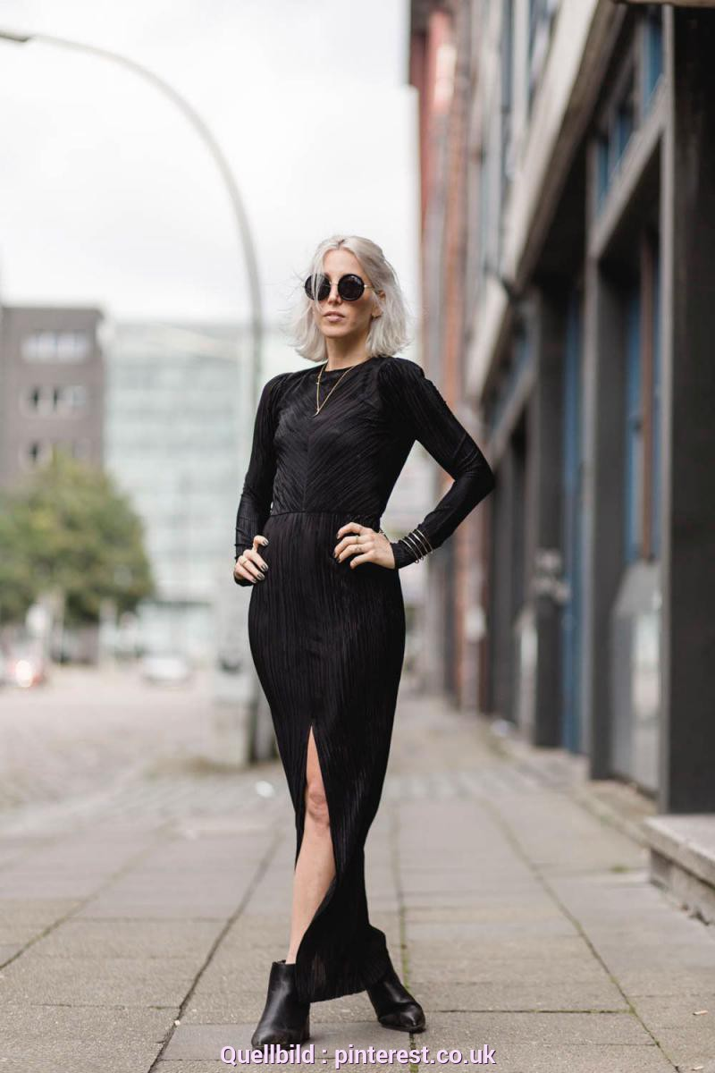 Quoet Zara Kleid Schwarz Lang OUTFIT-POST: PLISSEE | Autumn Fashion, Ootd And Autumn