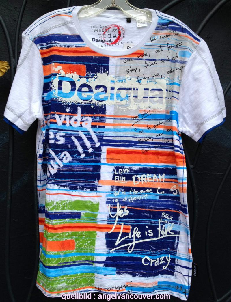 Schrullig Desigual T Shirts Sale New Desigual T-Shirts And Shorts For Men From Spring-Summer 2013