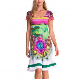 Am Leben Desigual Kleid Olivia Desigual Olivia Dress Chicle M - Born2Style Fashion Store
