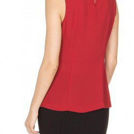 Befriedigend Comma Top Rot COMMA Bluse Rot | 34