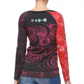 Befriedigend Desigual Shirt Rot Desigual TS Chloe Shirt Red M - Born2Style Fashion Store