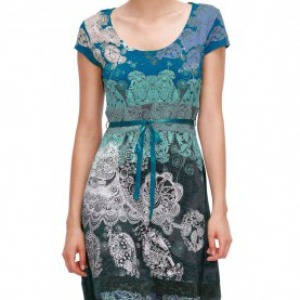 Bemerkenswert Desigual Kleid Liz Desigual Liz Dress Azafata - Born2Style Fashion Store