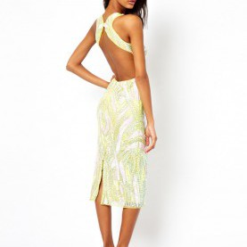 Bemerkenswert Rückenfreie Kleider Asos ASOS | ASOS Backless Midi Sequin Dress At ASOS | Fashion | Pinterest
