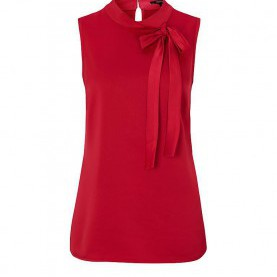Besondere Comma Bluse Rot COMMA Bluse Rot | 34