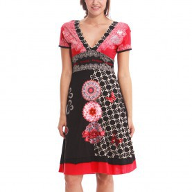 Besondere Desigual Kleid Bianca Desigual Flechazo Dress Black L - Born2Style Fashion Store