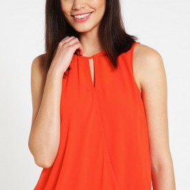 Bezaubernd Esprit Collection Top Women Tops & T-Shirts Esprit Collection Vest - Orange Red,Esprit