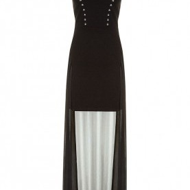 Bezaubernd Tally Weijl Langes Schwarzes Kleid Black Maxi #Dress #TALLYWEiJL #Musthave