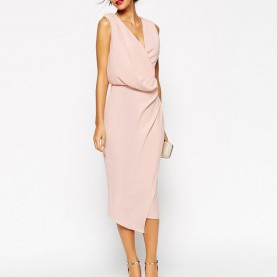 Einzigartig Asos Kleider Midi Image 1 Of ASOS WEDDING Wrap Drape Midi Dress | Sstyle | Pinterest