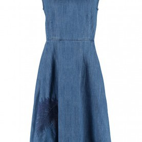 Einzigartig Jeanskleid Esprit Edc Women Dresses Edc By Esprit Denim Dress - Blue Medium Wash,Esprit