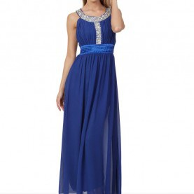 Fabelhaft Blaues Langes Abendkleid Langes Abendkleid In Blau | Bei VIP Dress Shoppen ♥