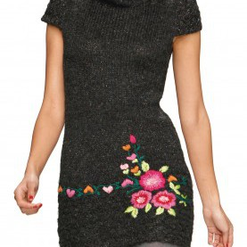 Fabelhaft Desigual Kleider Winter Desigual Kleid Carey Schwarz L - Born2Style Fashion Store