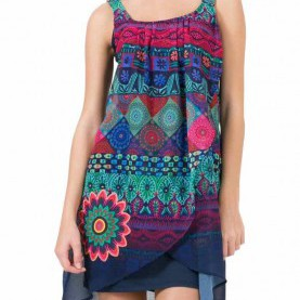 Fabelhaft Desigual Magic Kleid 61V28Q6_5000 Desigual Dress Magic, Canada | Desigual Dresses