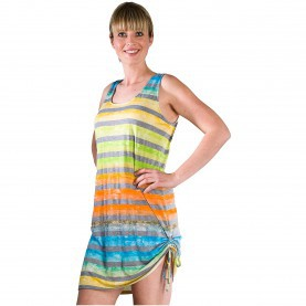 Friedlich Ärmelloses Shirt Kleid PURO T-SHIRT-KLEID Rainbow - Bade-/Strandmode