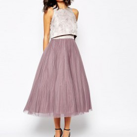 Friedlich Asos Kleid Pink Coast Harven Dress With Pleated Skirt | Rock, Prom And Wedding