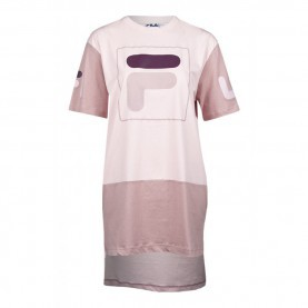 Friedlich T Shirt Kleid Pink Fila Damen Kleid Sky Tee Dress