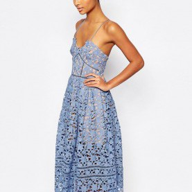 Großartig Asos Hellblaues Kleid Image 1 Of Self Portrait Azaelea Dress | Make Up | Pinterest