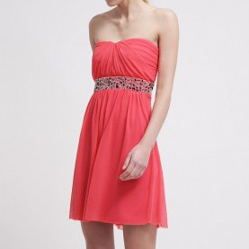 Großartig Esprit Kleid Koralle ESPRIT Collection Cocktailkleid / Festliches Kleid Reef Coral