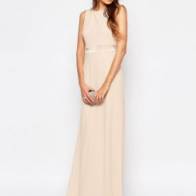 Hervorragend Asos Tfnc Kleider TFNC Tall | TFNC Tall WEDDING Sateen Bow Back Maxi Dress At ASOS