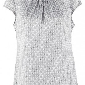 Hervorragend Comma Bluse Grau Comma Bluse - Grey/Black - Zalando.At
