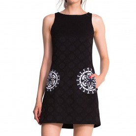 Hervorragend Desigual Kleid Sheila Desigual By L Women'S Sheila Dress: Amazon.Co.Uk: Clothing