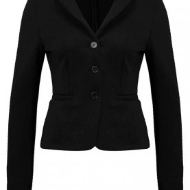 Interessant Blazer Comma Schwarz Blazers Womens Clothing Comma Blazer Grey Black Made In London