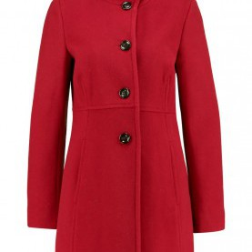 Interessant Comma Trenchcoat Rot Comma-Women-Coats Excellent Quality, Comma-Women-Coats Exclusive