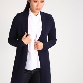 Interessant Esprit Collection Strickjacke ESPRIT COLLECTION Strickjacke - Navy Damen Bekleidung Pullover