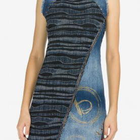 Klug Desigual Vest Luna DESIGUAL Luna Denim Dress From Hawaii By Hurricane Limited