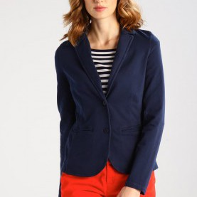 Luxuriös Comma Blazer Marine COMMA CASUAL IDENTITY Blazer - Marine Women Clothing Jackets,Comma