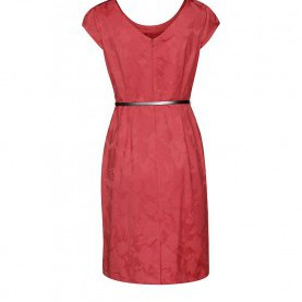 Luxuriös Comma Kleider Rot COMMA Kleid Rot | 34