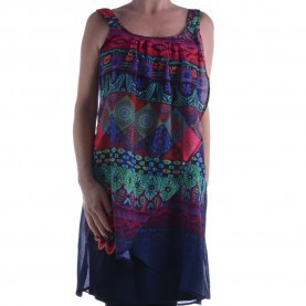 Luxuriös Desigual Kleid 44 En Vogue Shop - TMP GmbH - Desigual Kleid 61V28Q6 5000 Vest Magic