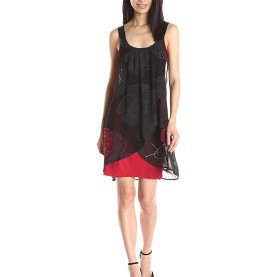 Luxuriös Desigual Blackville Kleid Desigual Damen Kleid Blackville Straps: Amazon.De: Bekleidung
