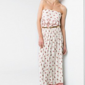 Natürlich Bandeau Kleid Lang Strapless Long Dress - Woman | Tall Lady, Maxi Dresses And Clothes