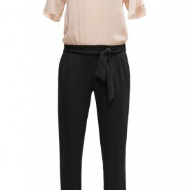 Natürlich Neue Kollektion Comma Comma, Damen Hosen Jumpsuit - Powder,Comma Pullover Fransen,Billig