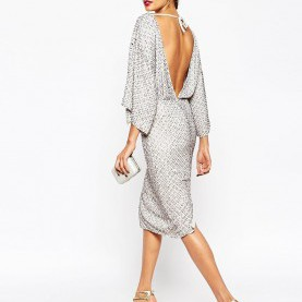 Perfekt Asos Red Carpet Kleid RED CARPET Sequin Grid Kimono Midi Dress | Midi Dresses, Kimonos