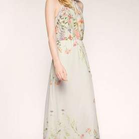 Prämie Esprit Maxikleid Chiffon Esprit - Flowing Floral Chiffon Maxi Dress At Our Online Shop