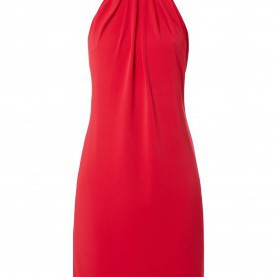 Quoet Esprit Kleid Rot ESPRIT-COLLECTION Cocktailkleid Mit Collierkragen In Rot Online
