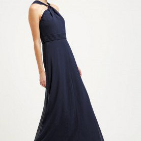Schrullig Ballkleider Von Esprit Women Dresses Esprit Collection Occasion Wear - Navy,Esprit Decor
