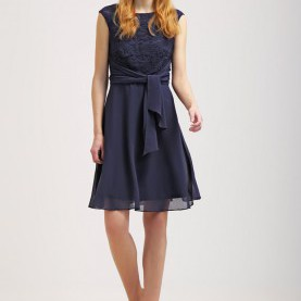 Schrullig Esprit Cocktailkleid Navy Esprit Online Shop Telefonnummer, Damen Kleider Esprit Collection