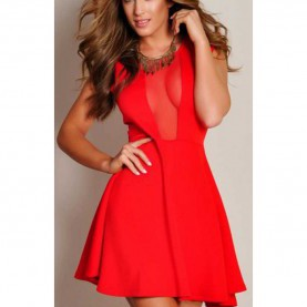 Schrullig Rotes Kleid Silvester Rotes Kleid George Ms384