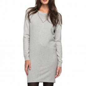 Schrullig Winter Kleider Damen Roxy Winter Story - Kleid Für Damen - Grau - Planet Sports