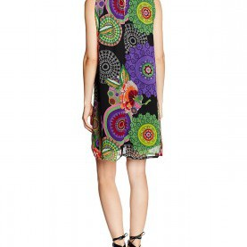 Sinnvoll Desigual Kleid Aya Desigual Women'S Aya Sleeveless Dress: Amazon.Co.Uk: Clothing