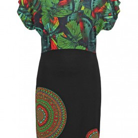 Typisch Desigual Online Shop Reduziert Desigual Online Shoes, Desigual AILANN Summer Dress Black Women