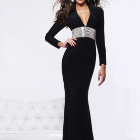 Typisch Kleid Schwarz Lange Ärmel Amazing Long Sleeve Party Dresses : Long Sleeve Party Dresses 3