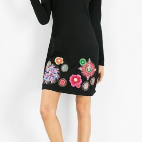 Weite Desigual Kleid Francis Desigual FRANCIS Francis 57V22B9 | Sweater Weather... | Pinterest