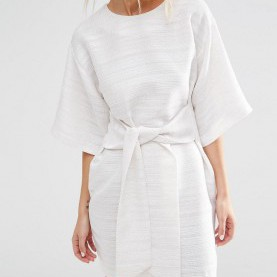 Weite Kimono Kleid Asos Tie Front Shift Dress | Minimal, Clothes And Wardrobes