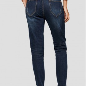 Zierlich Comma Jeans Damen Comma, Damen Jeans Jeans Tapered Fit - Blue Denim,Comma Jeans Grau