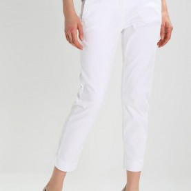 Zierlich Comma Neue Kollektion Comma Casual Identity Chino - White - FEGBHCV Neue Kollektion
